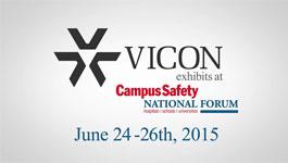 Vicon at Campus Security 2015