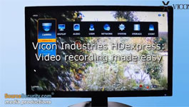 Vicon HDExpress embedded network video recorder