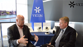 IFSEC 2015 interview with Vicon CEO Eric Fullerton