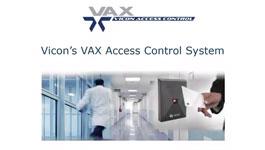 Vicon VAX access control solution webinar