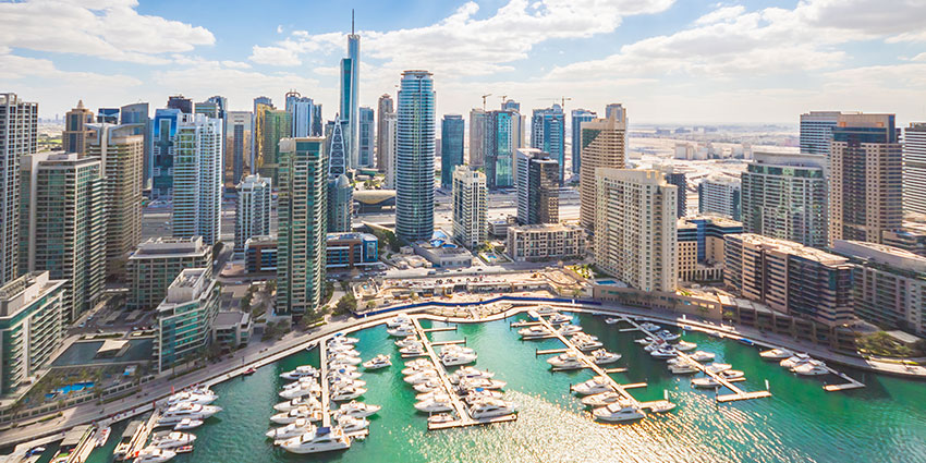 Dubai is an example of how artificial intelligence and smart city projects have become intrinsically linked