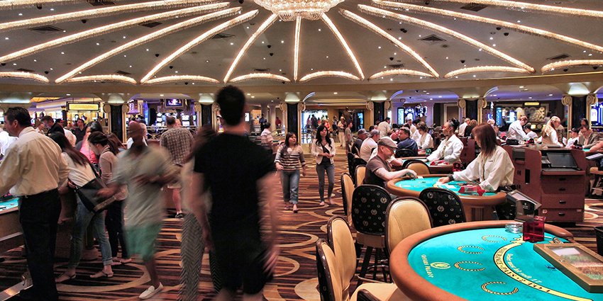 Las Vegas casinos require at least 30-fps for any cameras covering gaming action