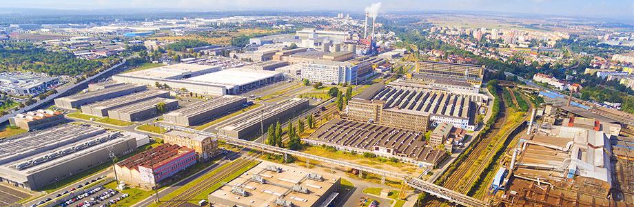 industrial parks hikvision vertical market