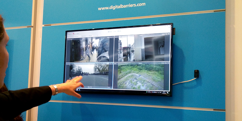 Digital Barriers showcased the latest in video streaming technology at IFSEC 2018 London
