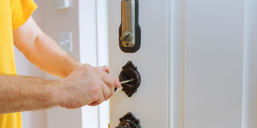 Connected smart locks can be used to wirelessly communicate with and control all the devices that make up a home automation system