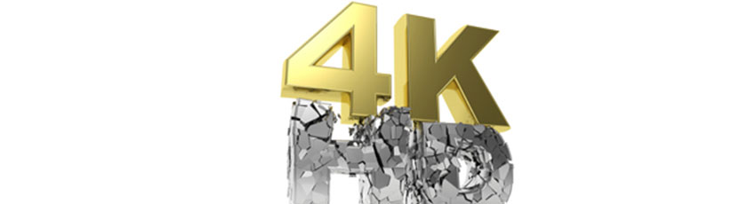 4K or HD - the standard of video resolution in the security industry