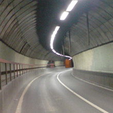 Blackwall Tunnel is a main traffic artery connecting Blackwall Point in East Greenwich and East India Dock Road in Poplar