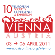 ASIS Europe 2011 will cover the entire spectrum of topics in security management