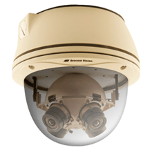 The first 20-megapixel panoramic cameras on the market provides a 180-degree or a 360-degree panoramic view