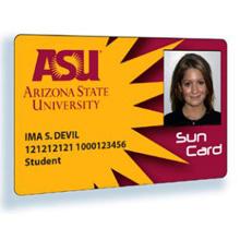 Arizona State University student Sun Card