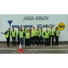 ASSA ABLOY played host to 10 apprentices from across the UK