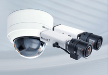 Basler's IP Fixed Dome Cameras cover an even wider area of surveillance than the camera's field of view