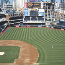 The new system allows security personnel at PETCO Park to use Web browser to view both live and recorded video