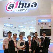 Dahua team at Intersec