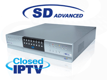SD Advanced combines all the benefits of a DVR with the capabilities of a high performance embedded NVR and offers multiple channels of IP