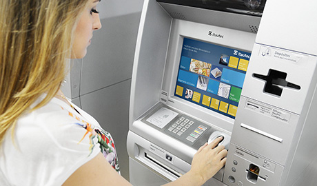 Biometrics is seeing especiallyrapid adoption rates throughout the worldwide banking infrastructure, particularly at the ATM and teller counter, says Phil Scarfo, VP worldwide marketing, biometrics, HID Global