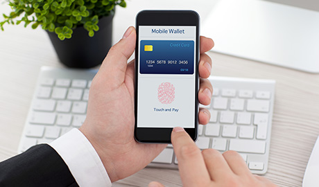 HID Global's Lumidigm biometric authenticator performs a finger scan with best-in-class liveness detection to ensure the person transacting is the one that enrolled the fingerprint