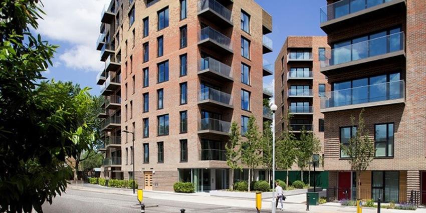 Trafalgar Place residential complex, London