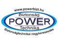 POWER Biztonságtechnikai logo