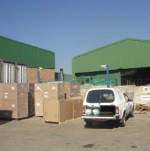 Wetrok products were mainly being illegally smuggled out of the premises by passing the goods over the perimeter wall