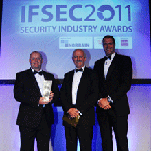 Elmdene's Merlin MGD-S Graffiti Detector won the award in the 'Intruder Alarm or Exterior Deterrent Product of the Year' category in the prestigious IFSEC 2011 Security Industry Awards
