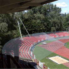 Slovakian football stadiums rely on megapixel network cameras from IQinVision for combating fan violence