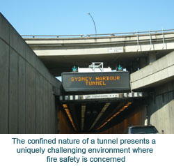 The confined nature of a tunnel presents a uniquely challenging environment where fire safety is concerned