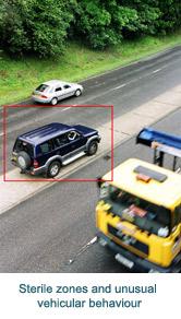 Sterile zones and unusual vehicular behaviour