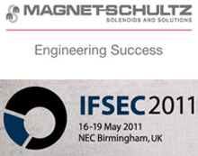 Magnet Schultz Ltd's range of unique products will be on display at the IFSEC exhibition held at Birmingham's NEC complex