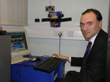 Jonathan Reynolds, the Network Manager at The Campion School