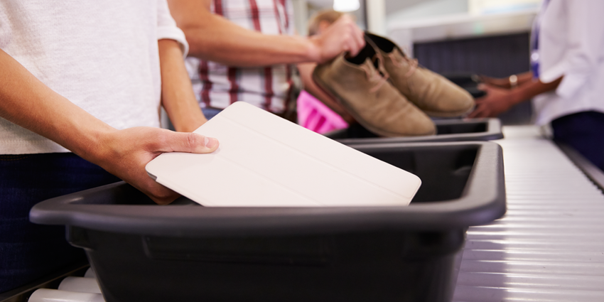 Airport security for parking, perimeter, baggage claim points and cargo area