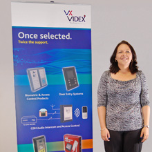 Sian has security industry background, having worked with door entry systems and access control