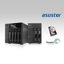 "ASUSTOR NAS devices are suitable for use with 2.5"" and 3.5"" hard drives from a wide range of world-renowned brands"