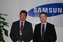 Colin Burgess and Tim Biddulph, Samsung Techwin