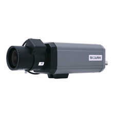 The Siqura BC14 camera with traditional box-style housing contains some of the most advanced technology available