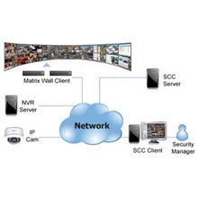 Enterprise VMS offers Surveon Control Center (SCC), a powerful add-on suite for advanced security projects