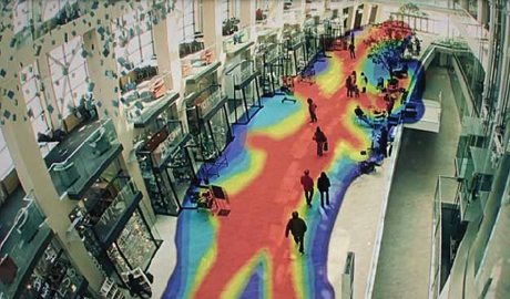 """Thermal images are based on temperature """"colours,"""""""
