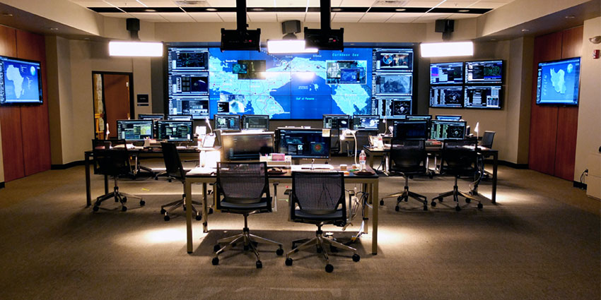 TerrorMate control room operators are focused solely on terrorism and mass shooting events