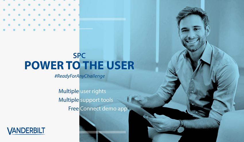 Vanderbilt SPC user rights, support tools