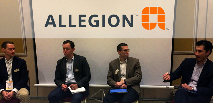 recurring monthly revenue (RMR).  A recent Allegion panel discussion highlighted the value, opportunities and untapped potential of wireless locks