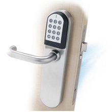 One of the newest additions to the XS4 product range is the electronic lock with keypad