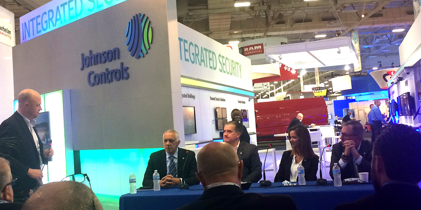 Johnson Controls kicked off the first day of the ASIS 2017 exhibition with a press event revisiting its acquisition of Tyco