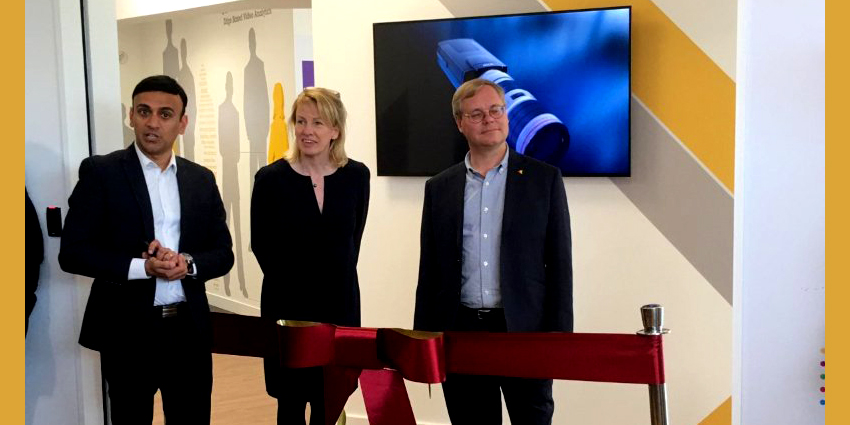 New Axis Communications Experience Center opens in Luton, UK