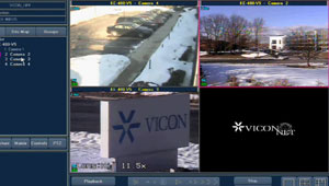 The Basics of Live Viewing When Using ViconNet Video Management Software
