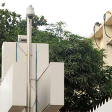The main gate of SB HQ premise in Malibah, Dhaka has been covered by PTZ camera IPS4204E