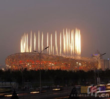 Swiss star architects Herzog & de Meuron won the tender with a spectacular stadium design, unofficially known as 'Bird's Nest'