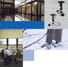 Axis' 60 network cameras cover all entrances and are positioned to provide full coverage on the data centre floors