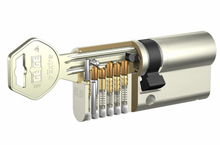 pExtra is a mechanical locking system which offers a cylinder with European Patent until 2002