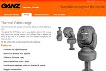 Thermal vision website