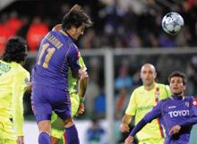 ACF Fiorentina at the Stadio Artemio